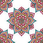 Stern des Mandalas Nahtloses Vektormuster