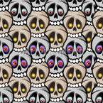 Monster skulls Repeat Pattern