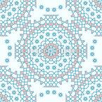 Dezente Schönheit Muster Design