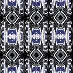 Ultrasonic Blau Nahtloses Vektormuster