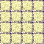 Confusão em Caixas Design de padrão vetorial sem costura
