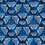 Kaleidoskopischer Schmetterling Muster Design