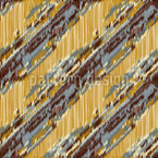 Diagonal Ikat Vector Pattern