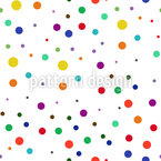 Soft Balls Seamless Vector Pattern Design