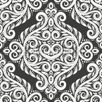 Medieval Damask Repeat Pattern
