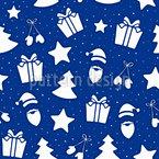 Weihnachtsartikel Nahtloses Vektormuster