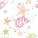 Underwater Party Seamless Vector Pattern Design