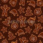 Kekse Weihnachtsbäckerei Vektor Design