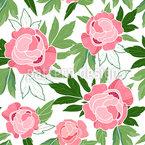 Floraler Charme Nahtloses Vektormuster