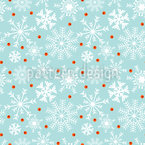 Winter Berries Pattern Design