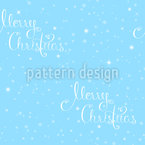 Snowflakes Typography Vector Design