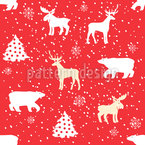 Christmassy Animals Repeat