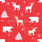 Weihnachtliche Tiere Rapport