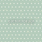 Polkadots Mint Seamless Vector Pattern Design