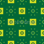 Tiny Flower-Squares Repeat