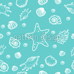 Seashell Lagoon Pattern Design