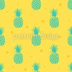 Still Pineapples Repeating Pattern