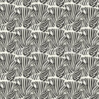 So Many Hidden Zebras Seamless Vector Pattern Design