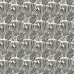 Viele Versteckte Zebras Nahtloses Vektormuster