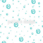 Waterdrop Seamless Vector Pattern Design