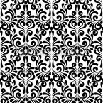 Damask Swirls Seamless Vector Pattern Design