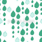 Leaf-Drops Vector Pattern