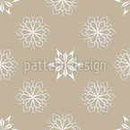 Endless Snowflakes Vector Design