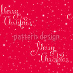Christmas Typography Repeating Pattern