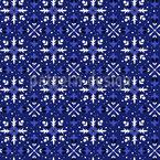 お祭りの落書き雪片 シームレスなベクトルパターン設計