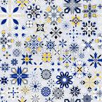 Winter Kristalle Vektor Muster