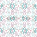 Telhas fragmentadas Design de padrão vetorial sem costura