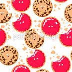Emotional Cookies Repeat Pattern