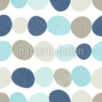 Cute Stones Seamless Pattern