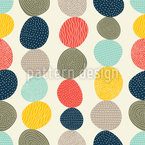 Stones Border Vector Pattern