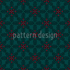 Christmas Mistletoe Pattern Design