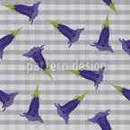 Gentian Seamless Vector Pattern Design
