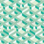Labirinto Perdido Design de padrão vetorial sem costura