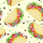 Yummi Taco Tag Musterdesign