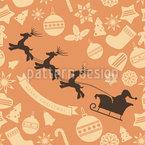 Weihnachtsmann Team Vektor Ornament