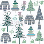 Cozy Winter Repeating Pattern