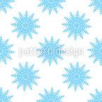Schnee An Weihnachten Nahtloses Muster