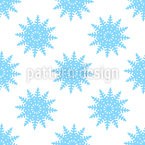 Snow At Christmas Seamless Pattern