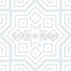 Estrelas Contiguamente Design de padrão vetorial sem costura