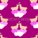 Pink world Vector Pattern