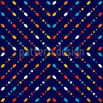 Flackernde Farben Vektor Design