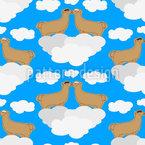 Auf Wolke 7 Rapportiertes Design