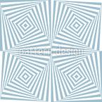Fantastisch hypnotische Quadrate Vektor Ornament