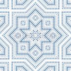 Para construir uma estrela Design de padrão vetorial sem costura