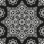 Uma nova estrela Design de padrão vetorial sem costura