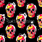 Ghost Rider Vector Pattern